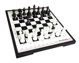 Portable Magnetic Chess Economy Travel Chess Game Set Portable Gift Chess - $8.38