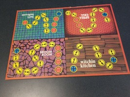 1970 Which Witch vintage Milton Bradley board game Replacement pieces - $13.86