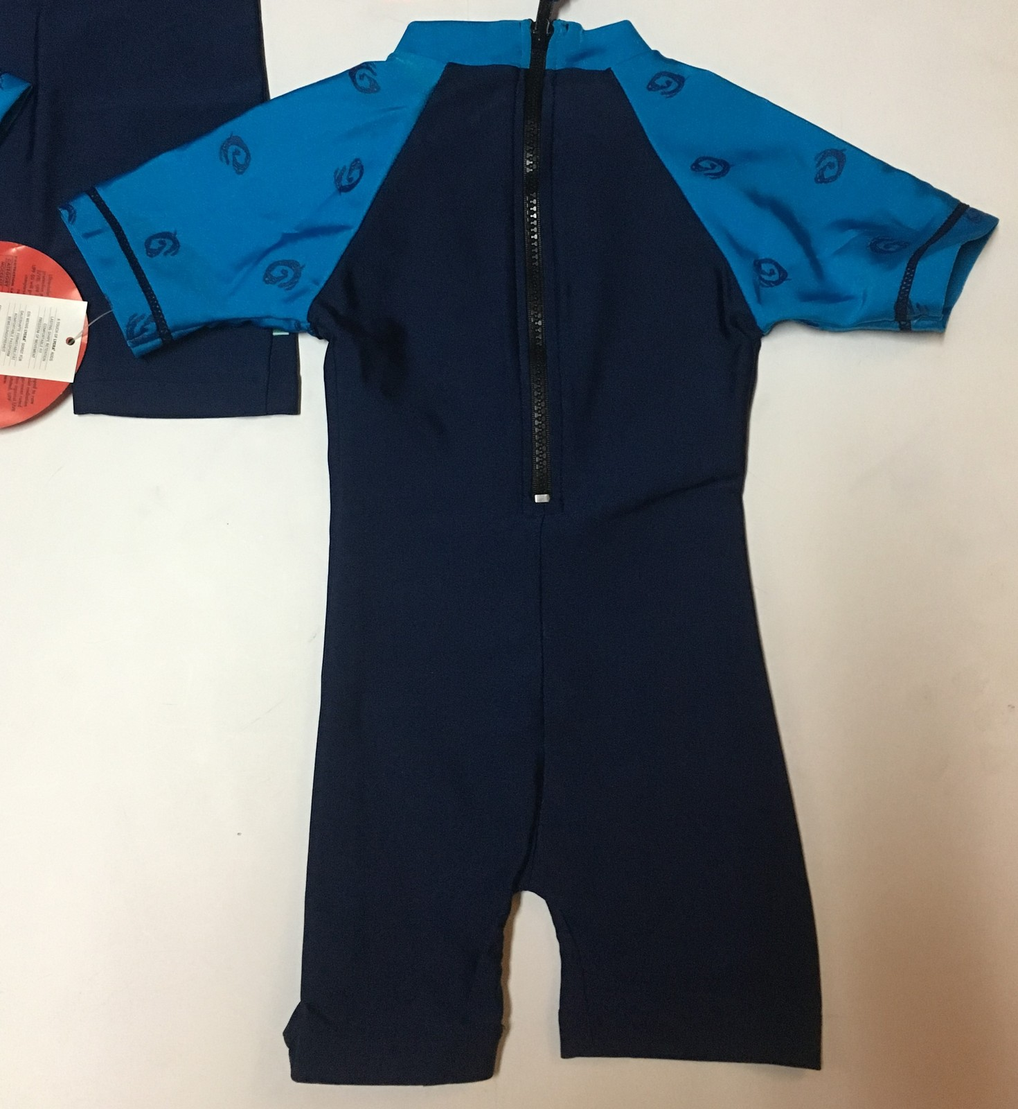 Infant One Piece Swimsuit Mad Dogs Lycra 50 UPF 6-12 Months Variety Features
