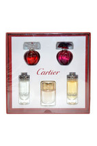 Cartier Variety by Cartier for Unisex - 5 Pc Mini Gift Set 0.15oz Delice... - $85.99
