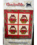 Pattern:Wall Quilt - Felted Wool Christmas Baskets - $5.69