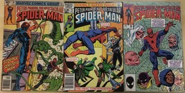 Spectacular SPIDER-MAN Lot Of (3) #39 #75 #96 (1980-1984) Marvel Comics Vg+ - $9.89