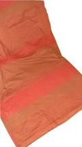 Calvin Klein Kassena Full Queen Duvet Cover Red Brown Rare EUC Tribal Stripe - $79.17