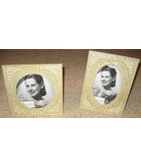 Pearl Wedding or Anniversary Picture Frame Set - $21.95