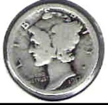 Nice 1917P dime - $4.00