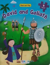 Read and Play David and Goliath : 4 Jigsaws (2017, Board Book) - $34.00