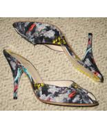 AUTHENTIC Fendi Chinese Crepe High Heels VERY RARE! - $199.99