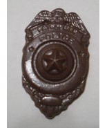 A dozen chocolate Patrolman Police Badges - $16.50