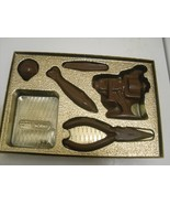 Chocolate Fishing Gear in a gold gift box - $18.00