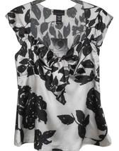 Sears Apostrophe Women's Silky Like Black White... - $6.92