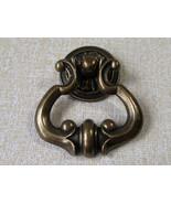 Brass Drop Dresser Drawer Pulls Knobs Handles Ring Antique Bronze Cabine... - $4.50