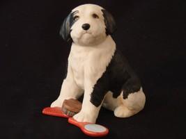 The Franklin Mint Sheepdog Figurine (Rare Limited Ed.) - $56.00