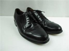 Men's Bostonian Black Dress Shoes Size 10.5 M Lace Up Leather Oxford Classics - $26.72