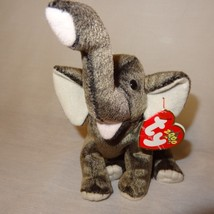 "Trumpet Elephant Ty Beanie Babies Collection Plush Stuffed Animal 5"" 2000 - $9.99"