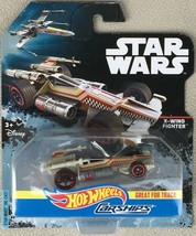 2016 HOT WHEELS STAR WARS ROGUE ONE CARSHIPS X-WING FIGHTER DIECAST - MIP - $7.95