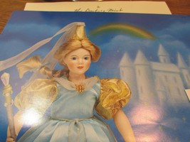 "DANBURY MINT  Porcelain Doll  10"" STORYBOOK ""FAIRY GODMOTHER"" W/BOX - $31.19"