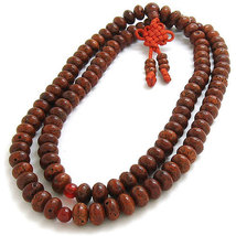 Free Shipping - Tibetan buddhist Genuine Natural Red Bodhi Seeds Meditation yoga - $29.99