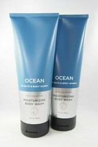 (2) Bath & Body Works Men's Collection Blue Ocean Moisturizing Body Wash... - $20.88