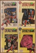 Deadshot #1-4 (1988) - VF/NM *Batman/Suicide Squad* 4 Book Lot  - £14.37 GBP