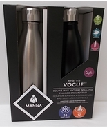 MANNA Two Pack 17 oz / 500 ml Vogue Insulated Double Wall Stainless Stee... - $48.00