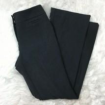 Ann Taylor Factory Women's Work Dark Gray Signature Fit Dress Pants Size 2P - $19.79