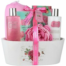 Relaxing Bath Spa Kit For Men, Women and Teens, Gift Set Bath And Body W... - $41.13