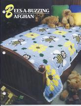 Bees-A-Buzzing Afghan Crochet Pattern~Annie's Quilt & Afghan Club - $24.99