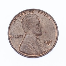 1931-D 1C Lincoln Cent in AU Condition, Brown Color - $37.62