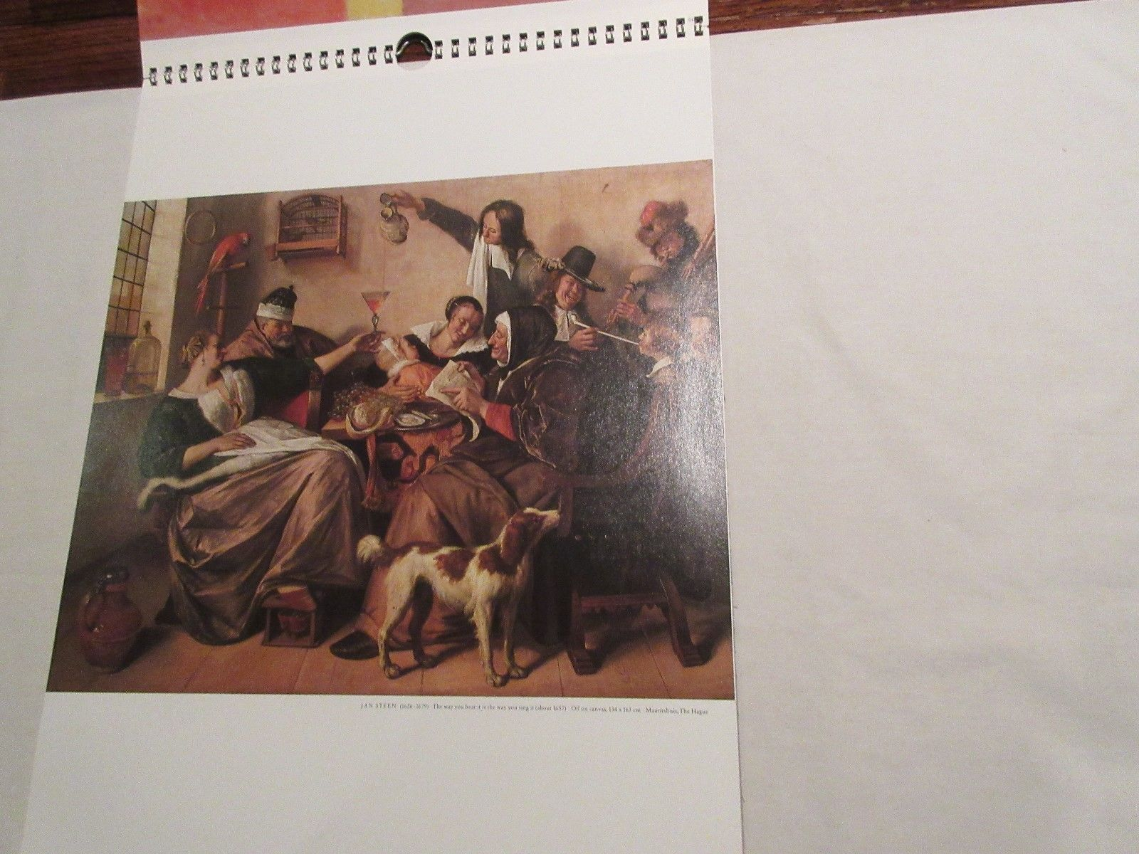 Rx , Pharmacy , Calendar , Hoechst-Roussel Pharmaceuticals Inc.,1987 , Vintage image 6