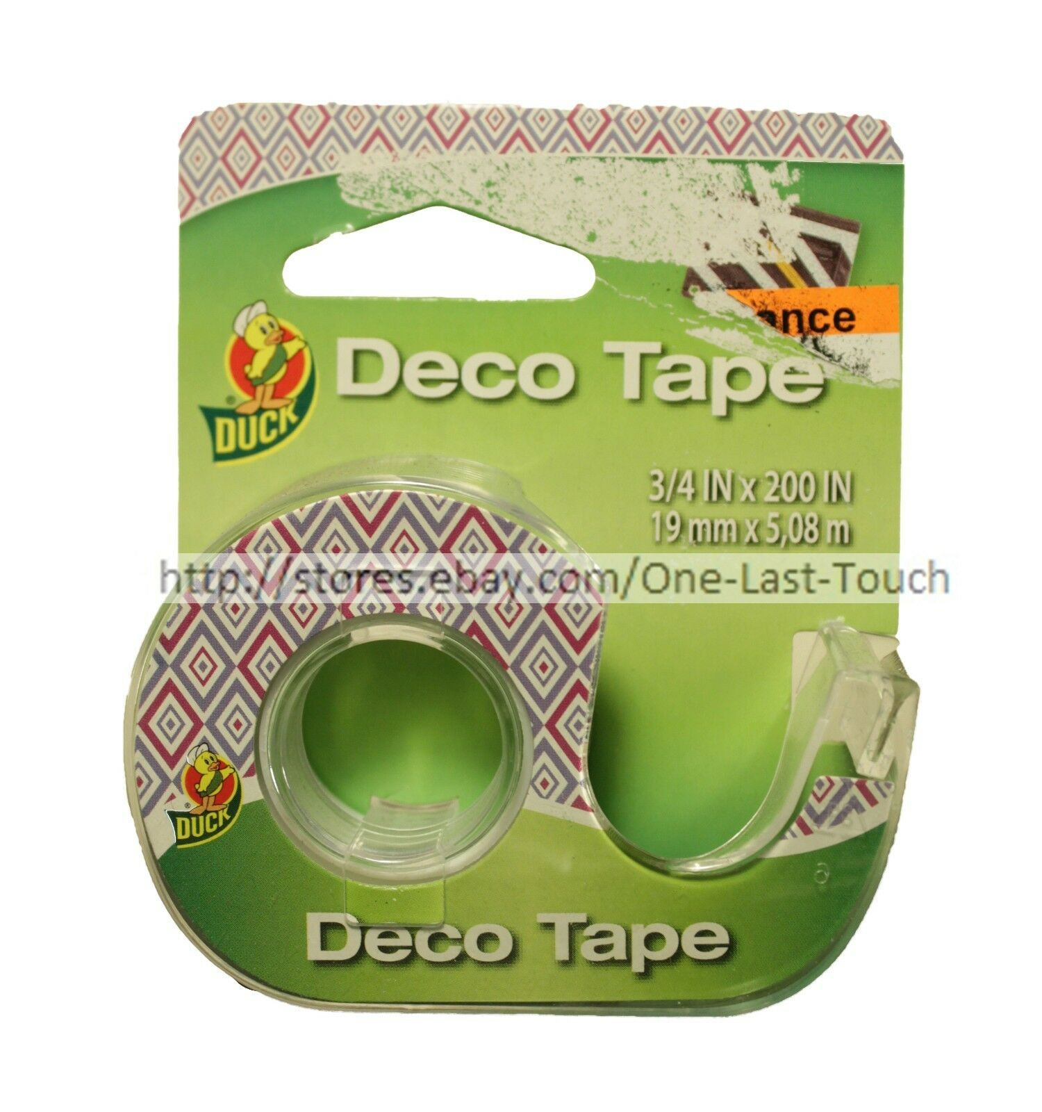 DUCK* Decorative DECO TAPE Handheld Dispenser GLOSSY FINISH New! *YOU CHOOSE* image 2
