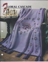 Floral Cascade Afghan Crochet Pattern~Annie's Quilt & Afghan Club - $24.99