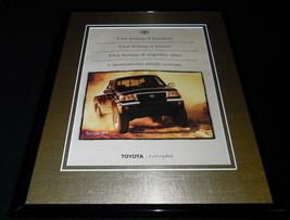 1999 Toyota Tacoma Framed 11x14 ORIGINAL Advertisement - $34.64