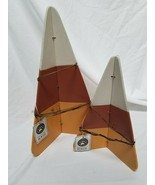 Boyds Collection Wooden Candy Corn 2 Piece Fall Decor Set - $19.75