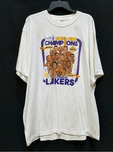 NWT New 20100 NBA Champions Los Angeles Lakers Shirt Sz 2XL Kobe Bryant Adidas