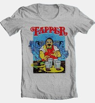 Tapper T-shirt retro 80's arcade game video game cotton blend graphic grey tee image 2