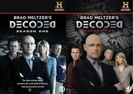 Brad Meltzers Decoded Complete Season 1 2  Series TV DVD Set All History... - $59.39