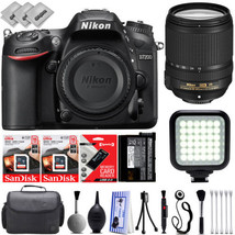 Nikon D7200 Digital SLR Camera w/ Nikon AF-S 18-140mm Lens - 32GB - 30PC... - $1,129.00