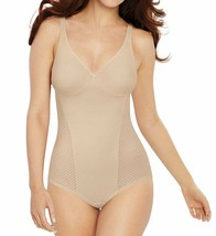 Bali SOFT TAUPE Passion for Comfort Minimizer Body Shaper , US 36C - $48.41