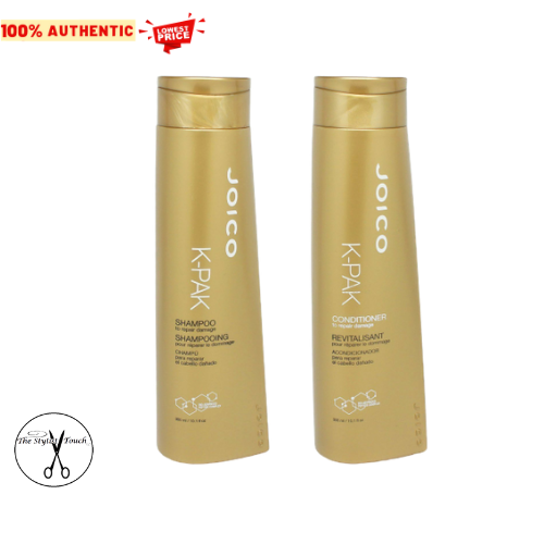 Primary image for Joico K-Pak Shampoo and Conditioner for Repair Damage 10.1 oz