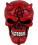 Red and Black Devil Skull Shift Knob - $11.82