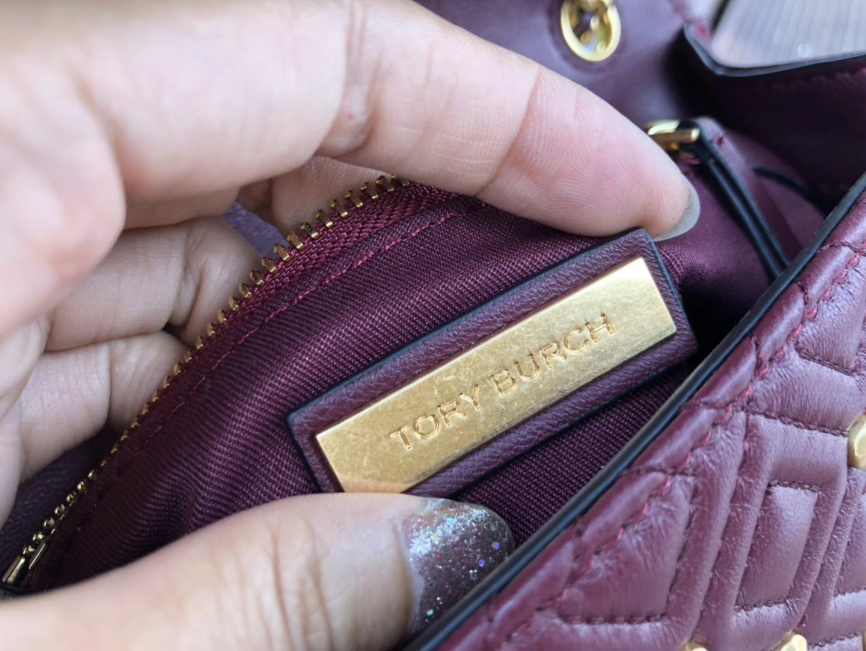 New Tory Burch Fleming Stud Small Convertible Shoulder Bag