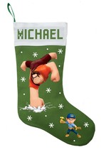 Wreck It Ralph Christmas Stocking, Personalized and Hand Made Wreck It R... - $29.99