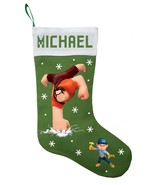 Wreck It Ralph Christmas Stocking, Personalized and Hand Made Wreck It R... - $28.49+
