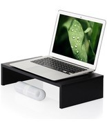 Desktop Computer Monitor Riser Laptop Holder Save Space For Macbook Lapt... - $41.96