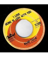 Adam Faith I Love Being In Love With You 45 rpm It's Alright Capitol - $9.49