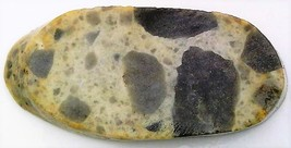 Gray Pudding Stone Jasper 2 Gemstone Slab Cabbing Rough - $4.60