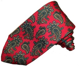 Brooks Brothers red paisley tie - $15.00
