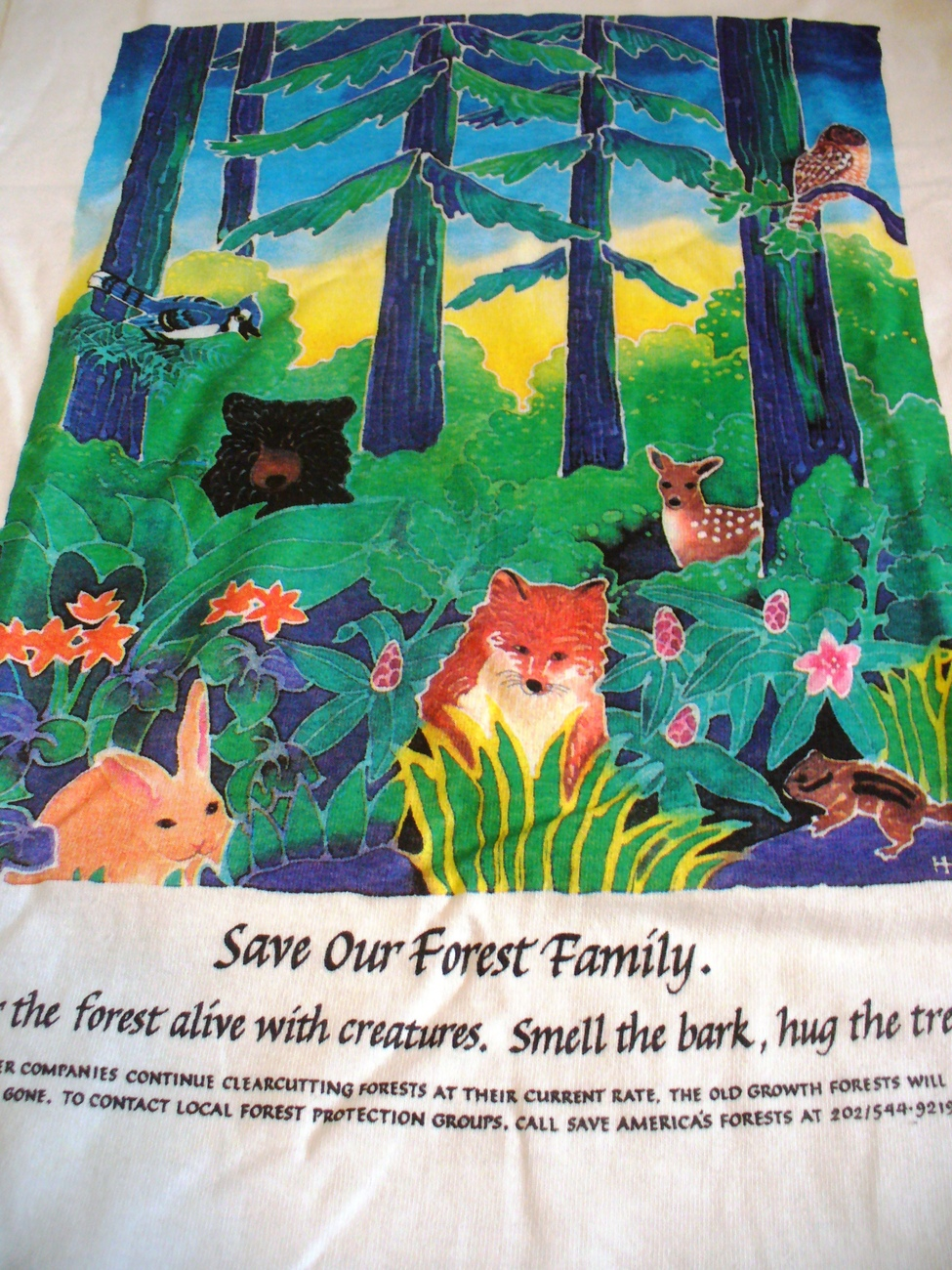 Primary image for Forest Family Jim Morris Environmental Tee-shirt