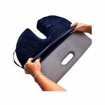 Relaxo Bak Custom Fitted Cushion Cover Only-Navy Blue Velour - $24.28