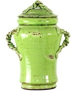 Vase Green Pottery Ceramic FREE SHIPPING* - $259.00